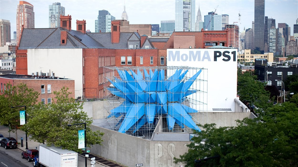 La cour du MoMa PS1, à New York