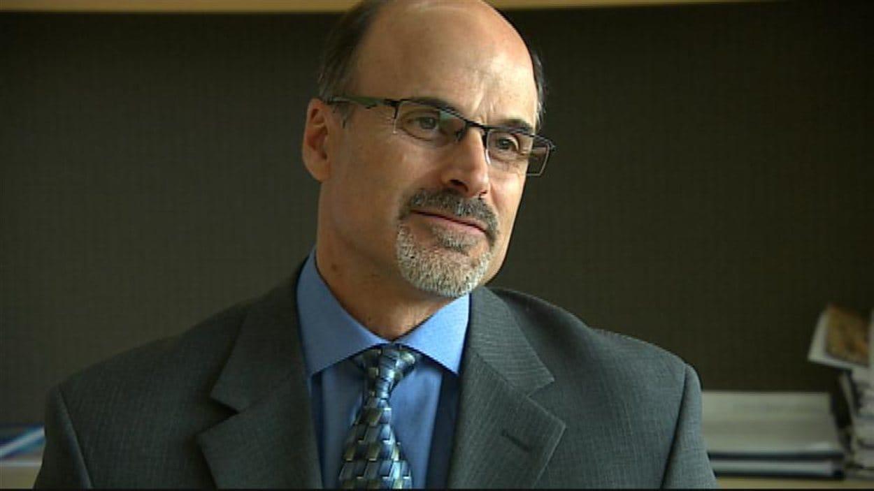 Le vice-président technologie informatique de la Caisse groupe financier Bernard Marcoux, le 28 octobre 2013.