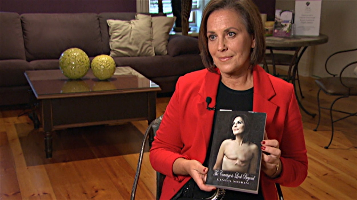 Linda Morin d'Ottawa a écrit un livre pour raconter son expérience et aider les femmes qui traversent la même épreuve.
