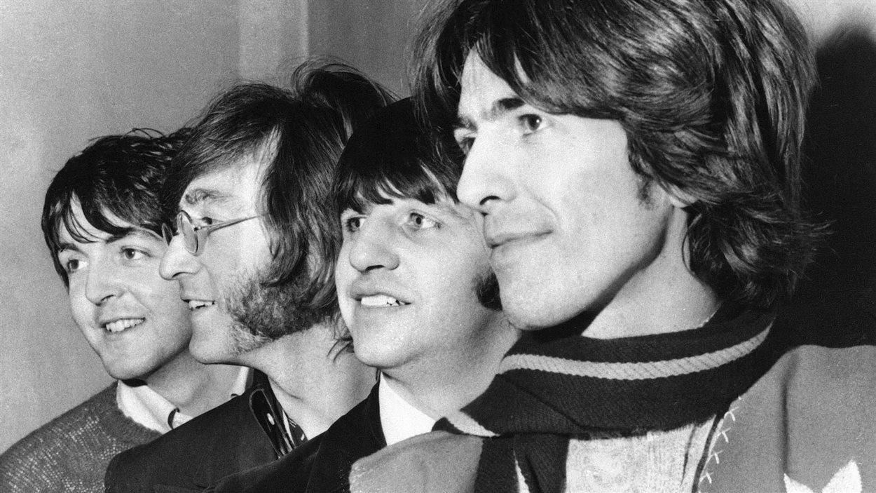 Les Beatles en février 1968