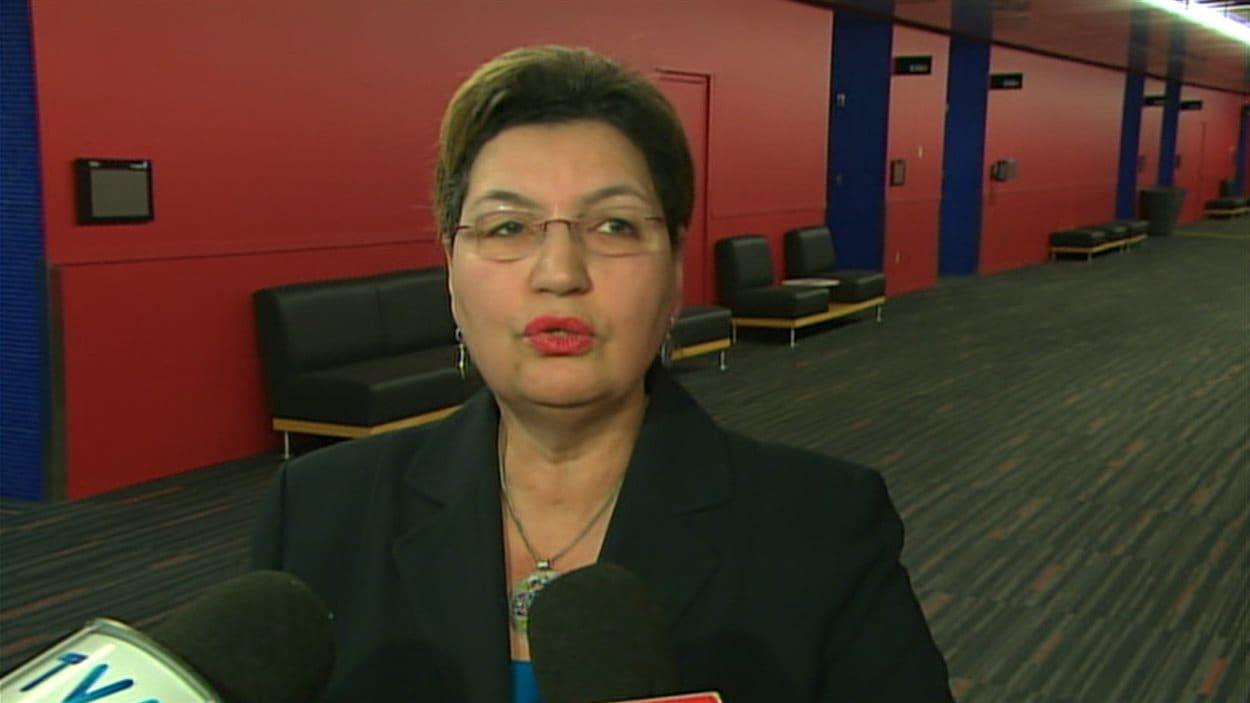 La députée libérale Fatima Houda-Pepin