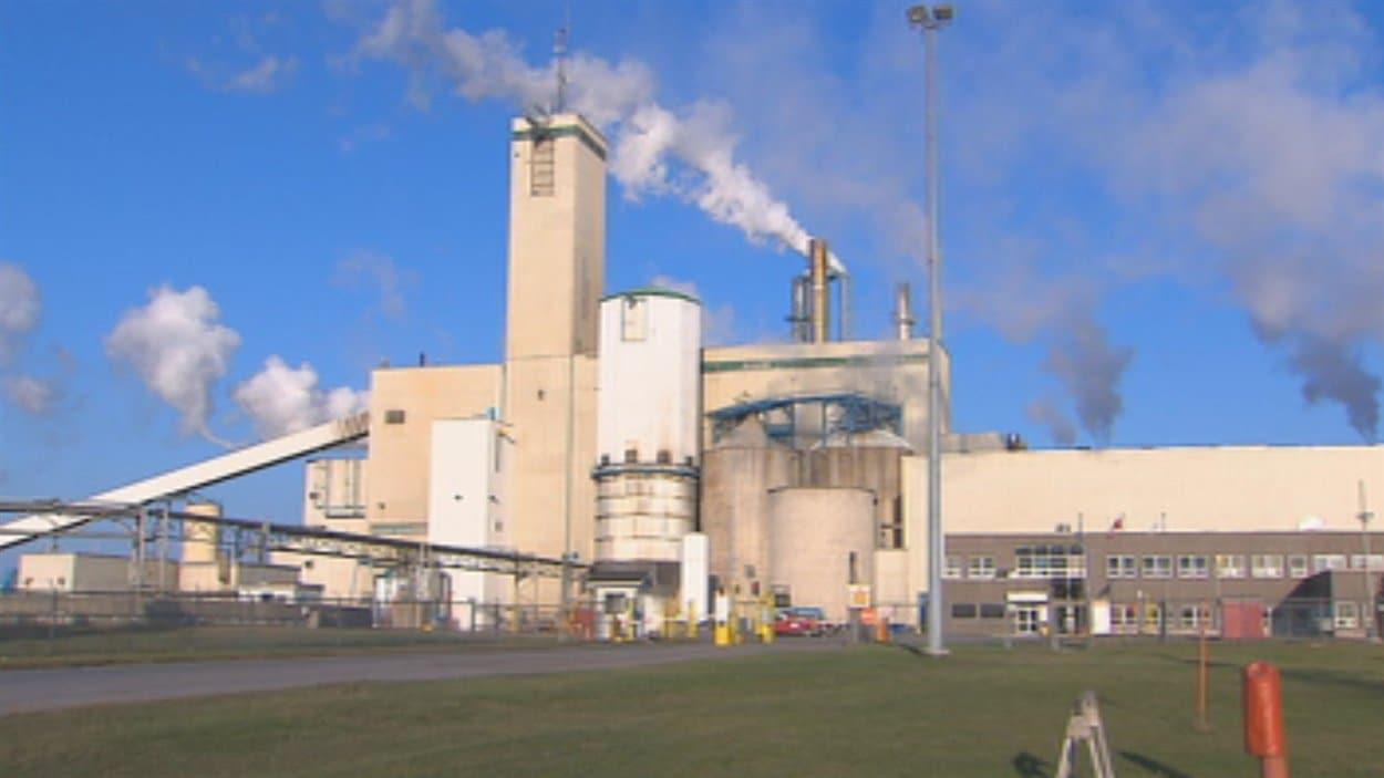 L'usine de Saint-Félicien