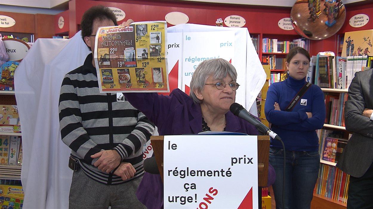 Jeanne Lemire, propriétaire de la Librairie Paulines