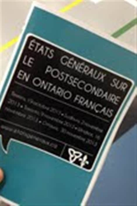 Les états généraux sur le postsecondaire ont lieu dans cinq villes en Ontario.