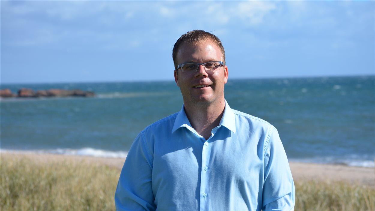 Jonathan Lapierre, maire des Îles-de-la-Madeleine