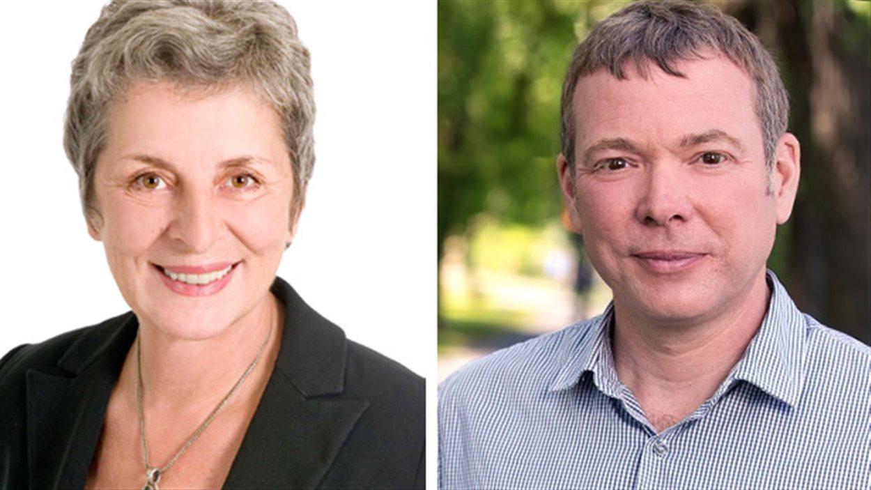 Janine Schrieber et Philippe Schnobb