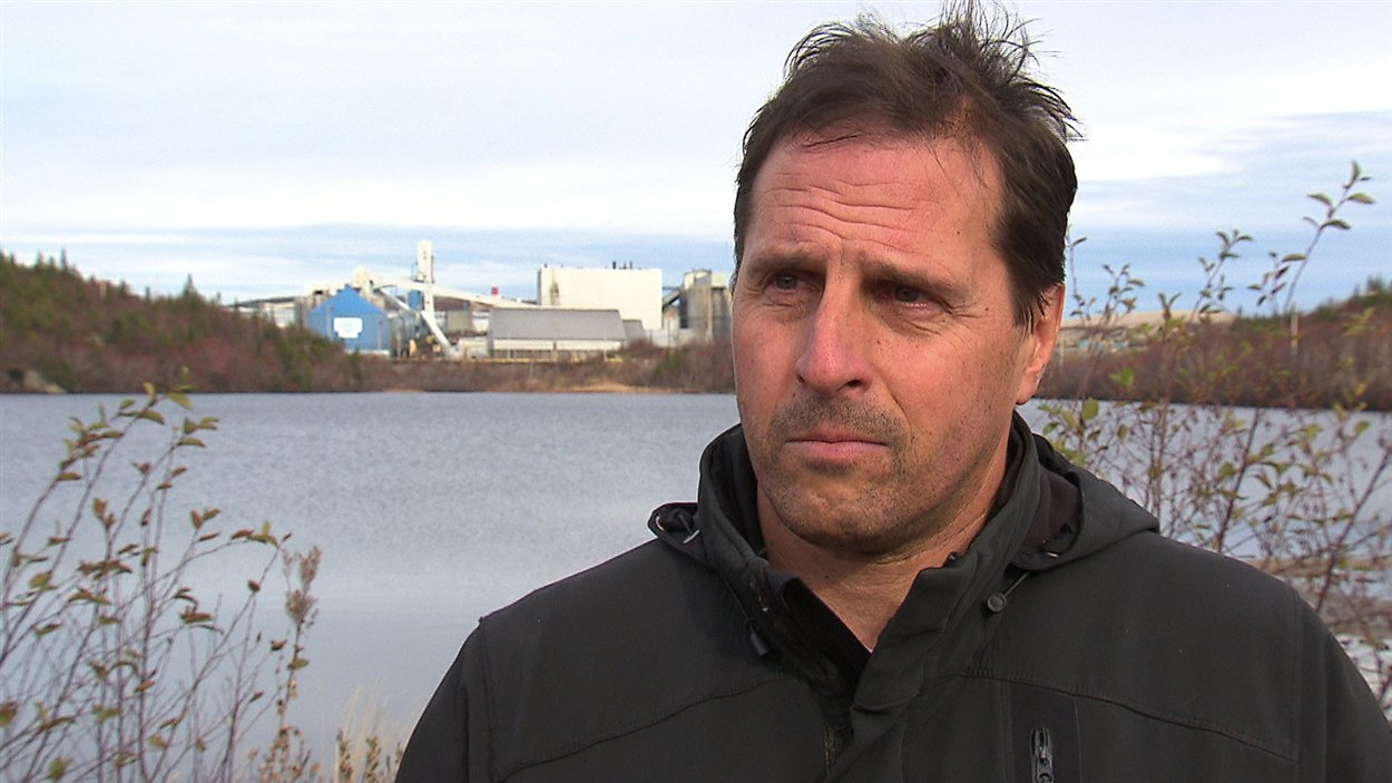 Le président de la CSN Côte-Nord, Guillaume Tremblay, préoccupé par le sort d'Alcoa à Baie-Comeau