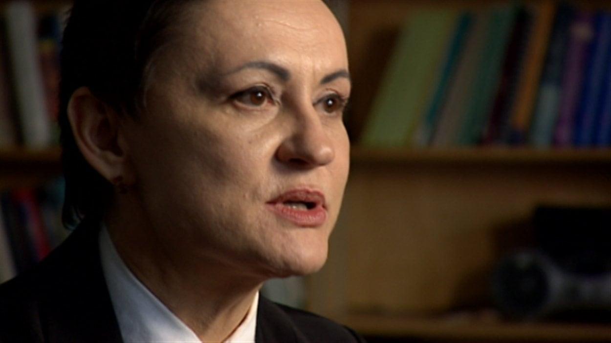 La Dre Ibolja Cernak, responsable de la chaire de l'Université de l'Alberta sur la réhabilitation clinique des militaires des Forces canadiennes