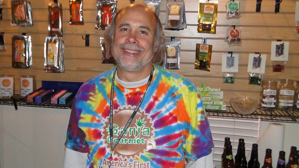 Steve Horowitz, propriétaire de Ganja Gourmet, s'attend à une hausse massive de sa clientèle après le 1er janvier.