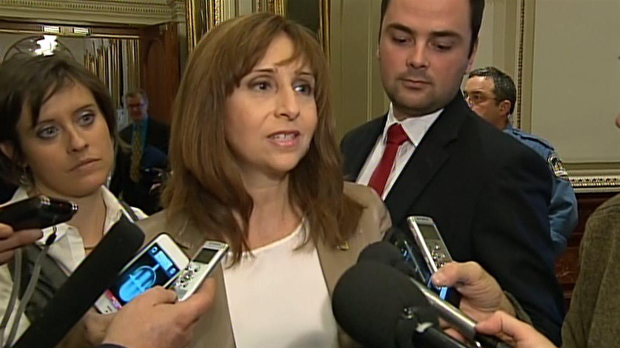 Nathalie Roy, députée de la CAQ