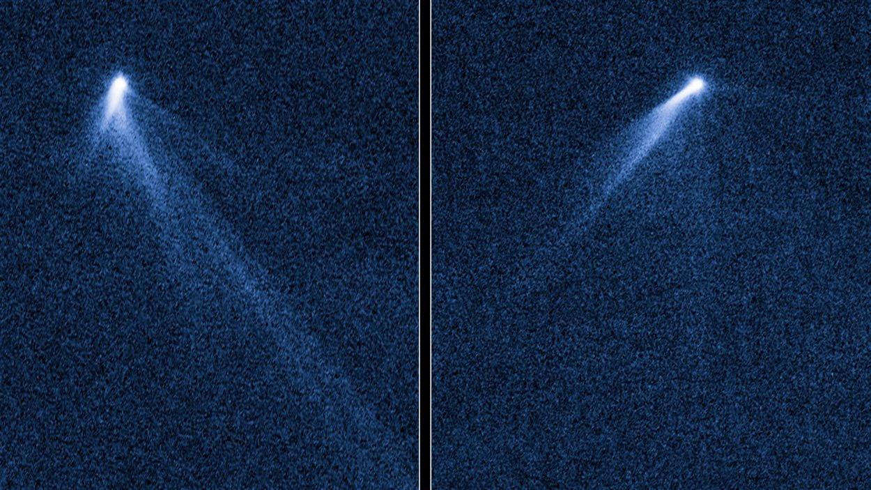 L'astéroïde baptisé P/2013 P5