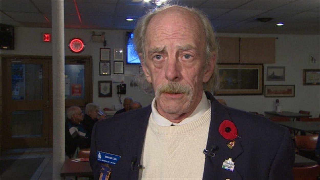 Bob Miller de la Légion royale canadienne