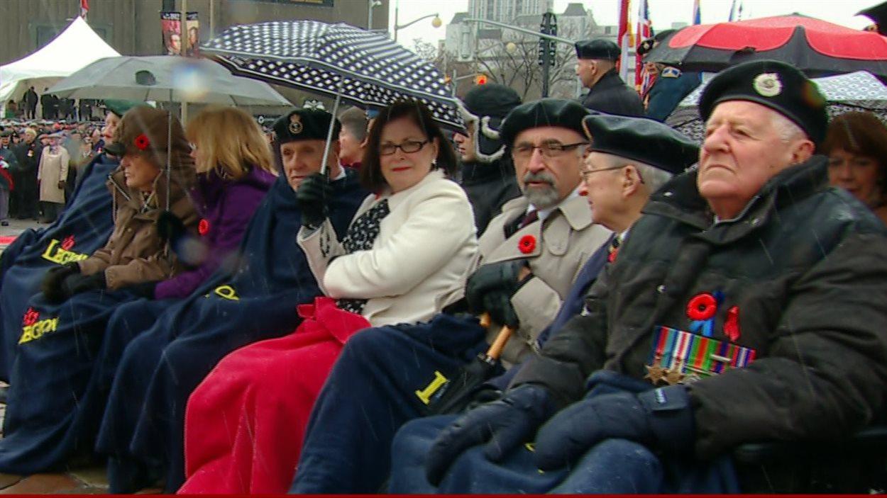 Cérémonie du jourr du Souvenir, à Ottawa