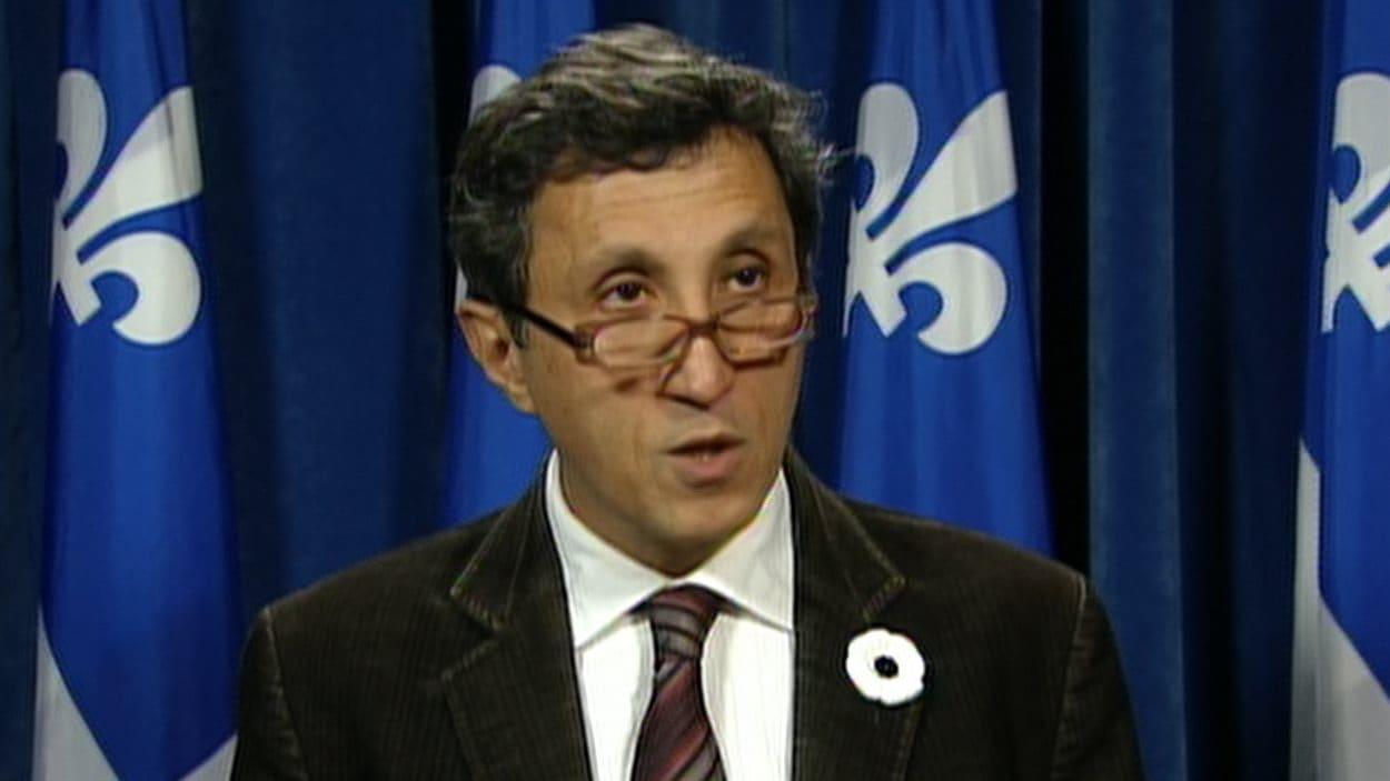 Le député de Mercier Amir Khadir