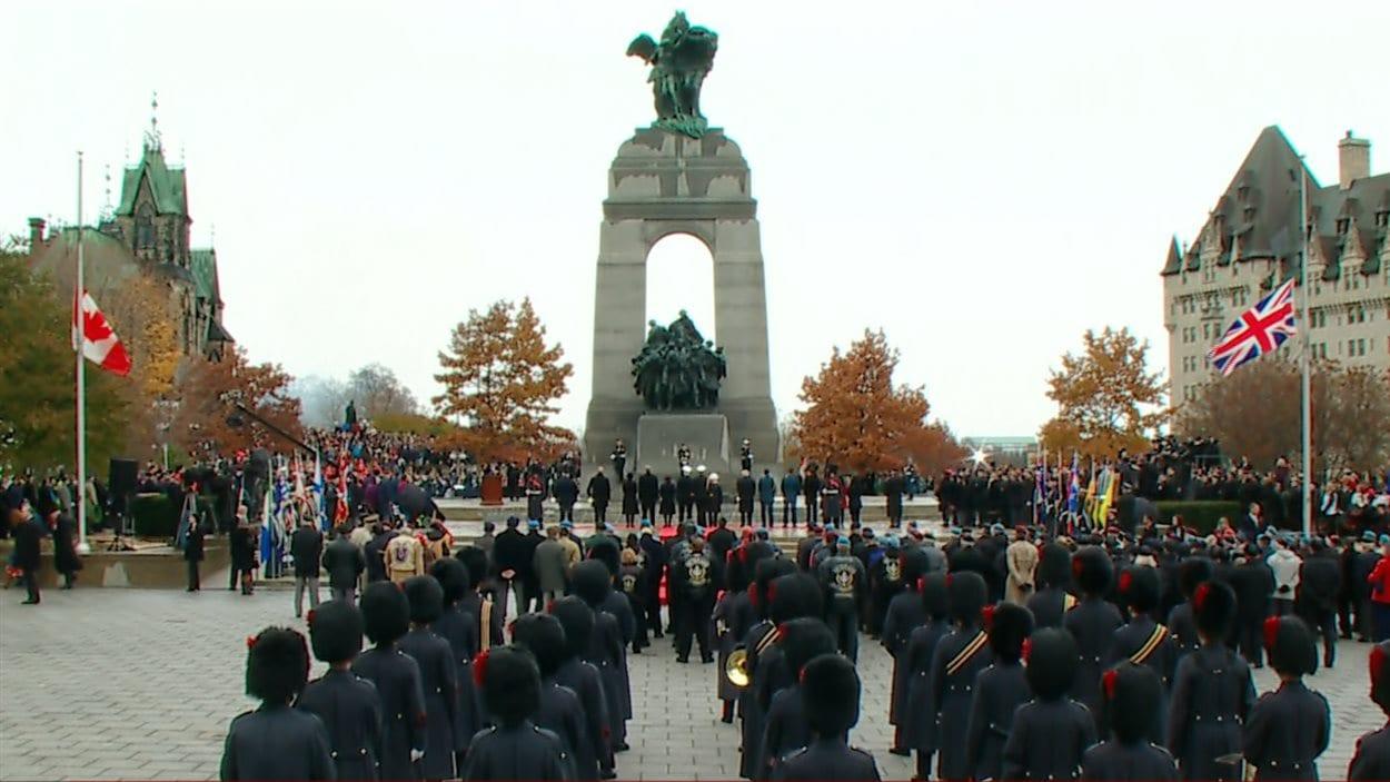 La cérémonie du jour du Souvenir, à Ottawa
