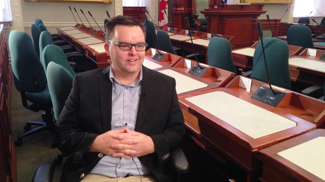 Le député Brendan Maguire
