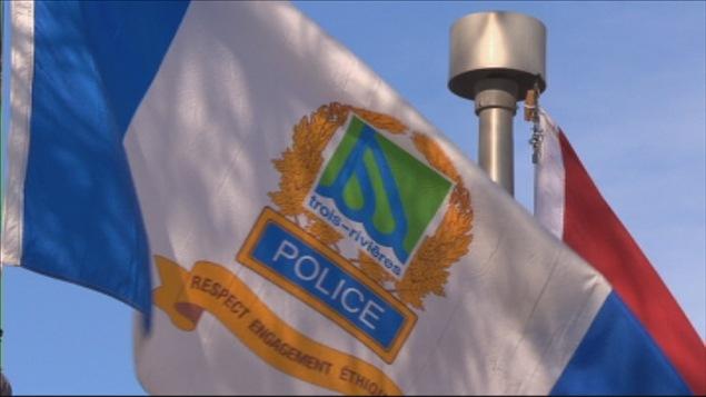 Le drapeau de la Sécurité publique de Trois-Rivières