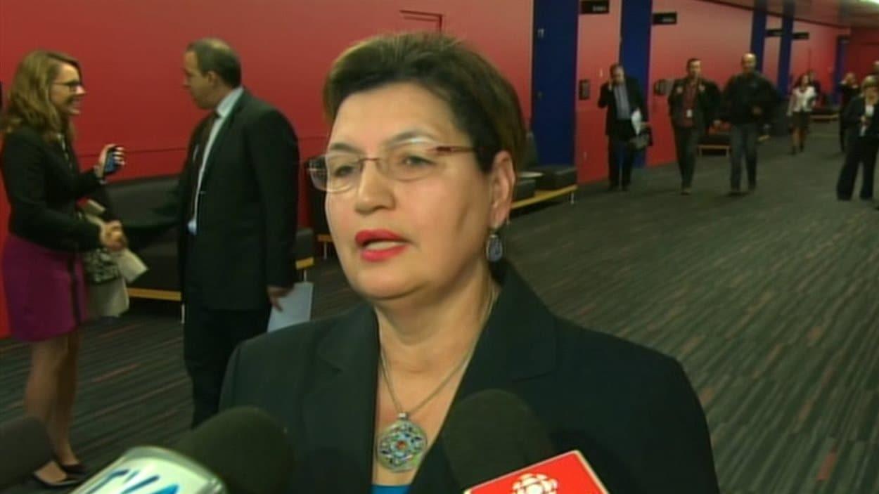 La députée Fatima Houda-Pepin