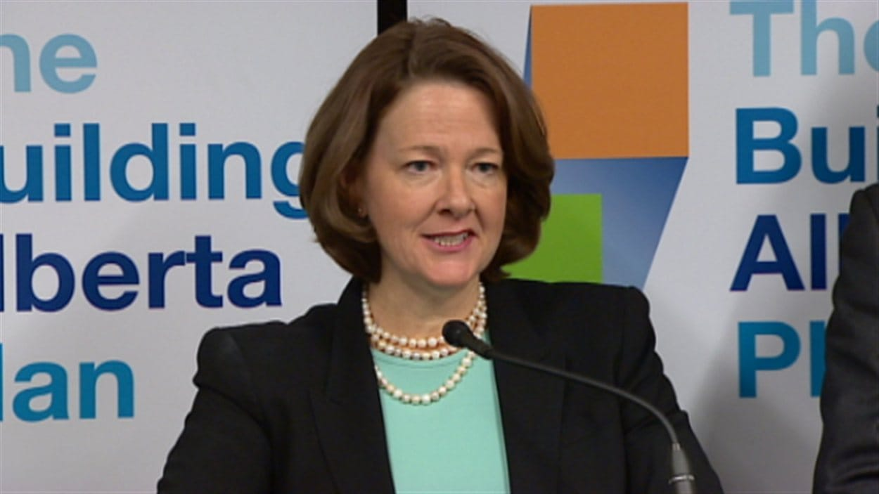 Alison Redford, première ministre de l'Alberta