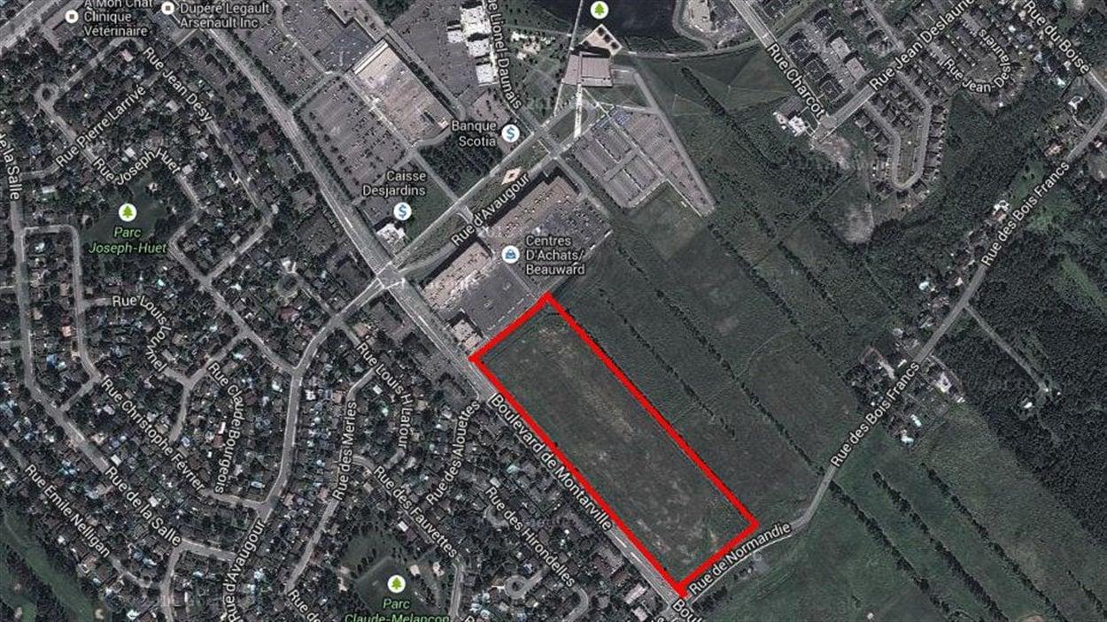 Le secteur de Boucherville où Argo veut créer le quartier «Avaugour»