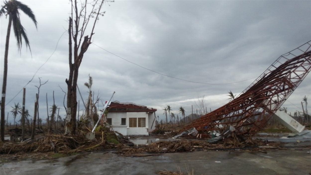 Les ravages du typhon à Tacloban