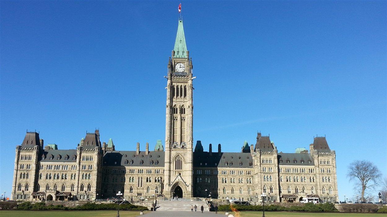 Le parlement d'Ottawa (novembre 2013)