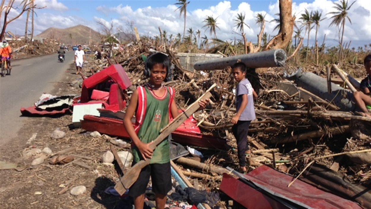 Palo près de Tacloban