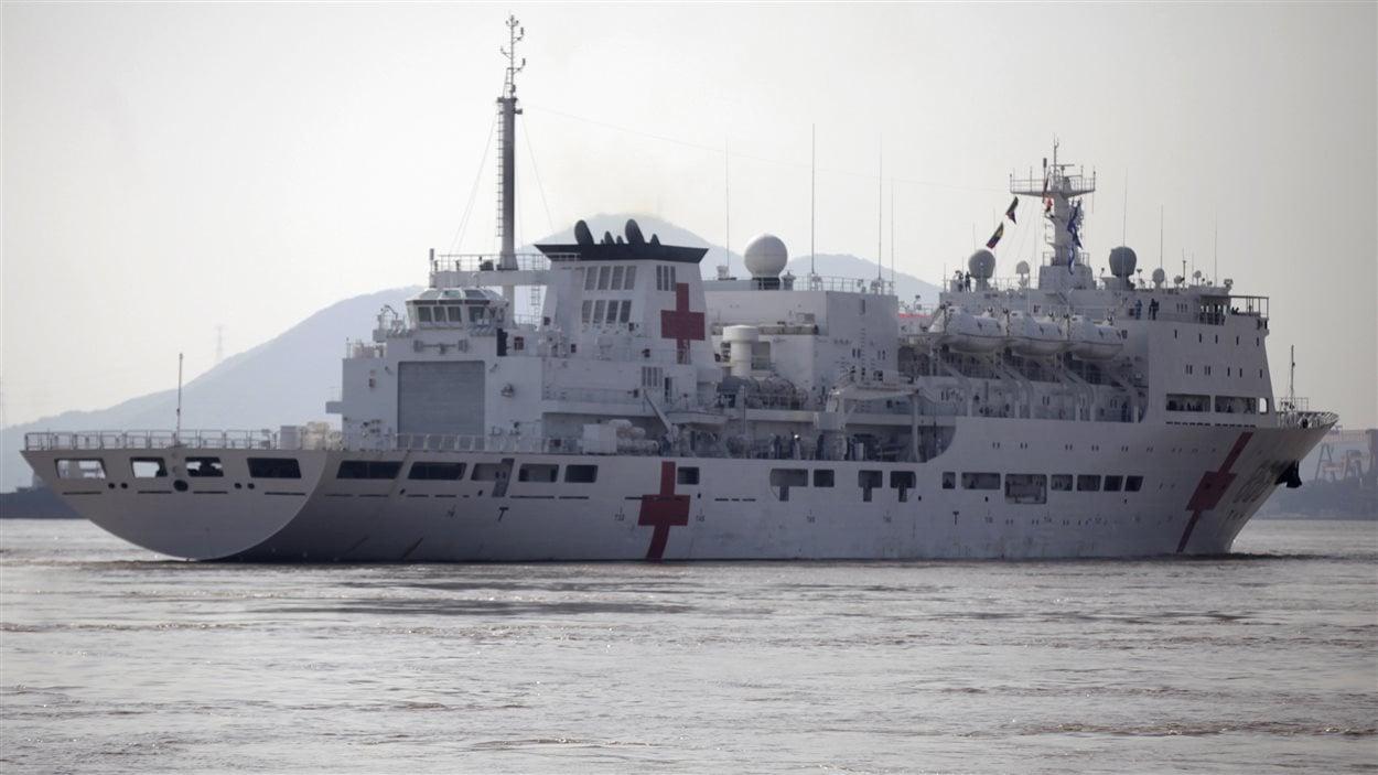 Le bateau-hôpital chinois Peace Ark