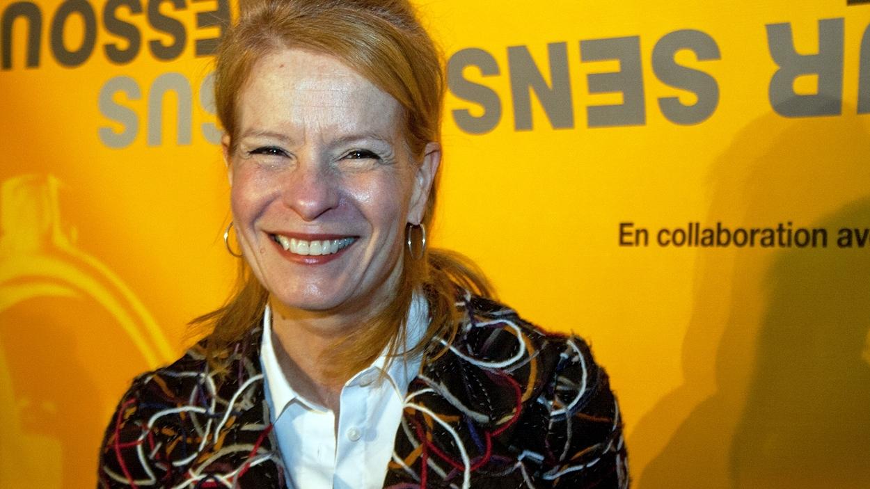 Louise Richer, la directrice générale et pédagogique de l'École nationale de l'humour.