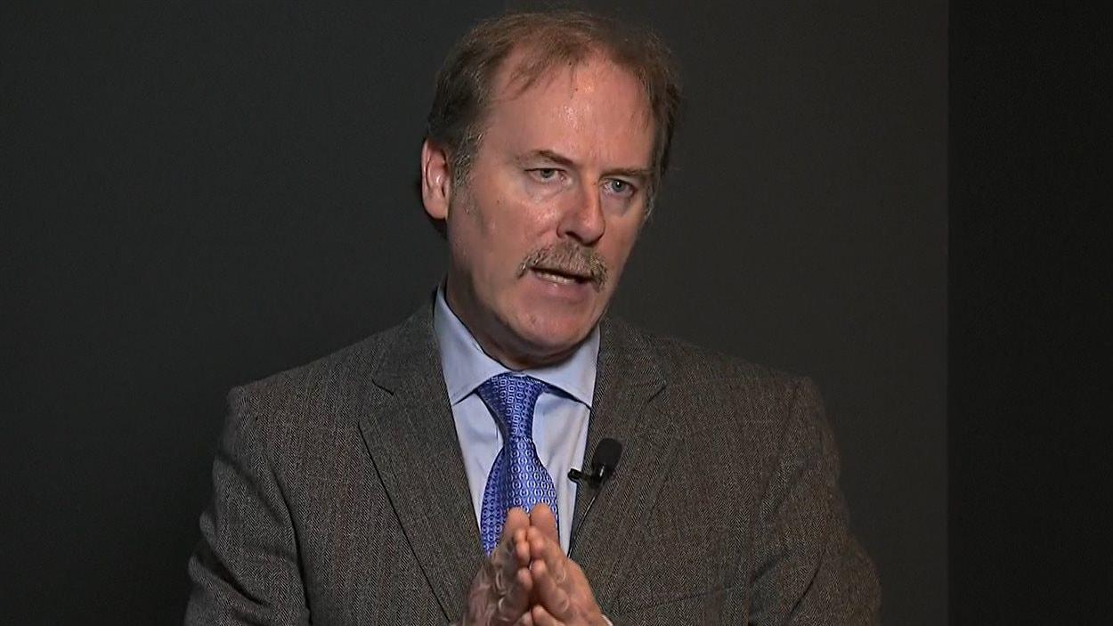 Glen P. Carlin, directeur général de la Société des ponts Jacques-Cartier et Champlain
