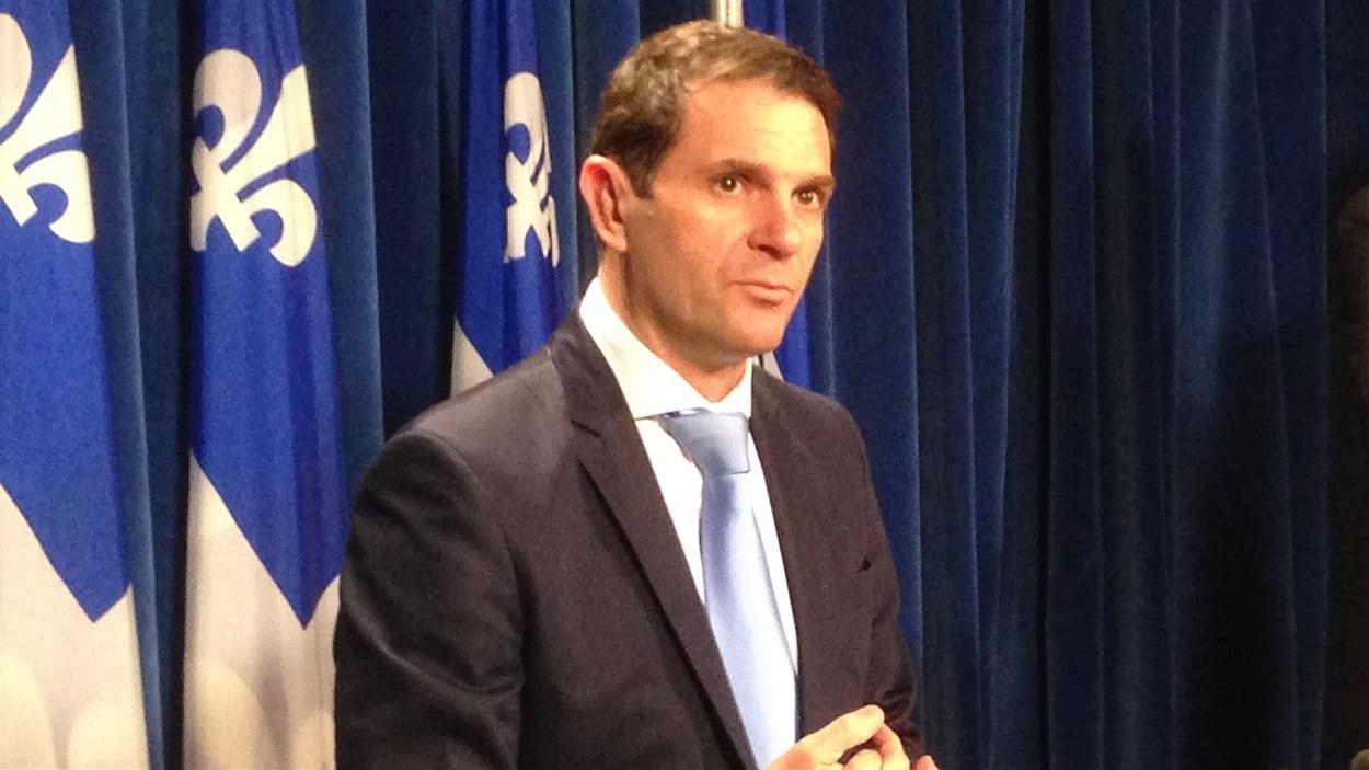 Le député de la CAQ François Bonnardel (archives)