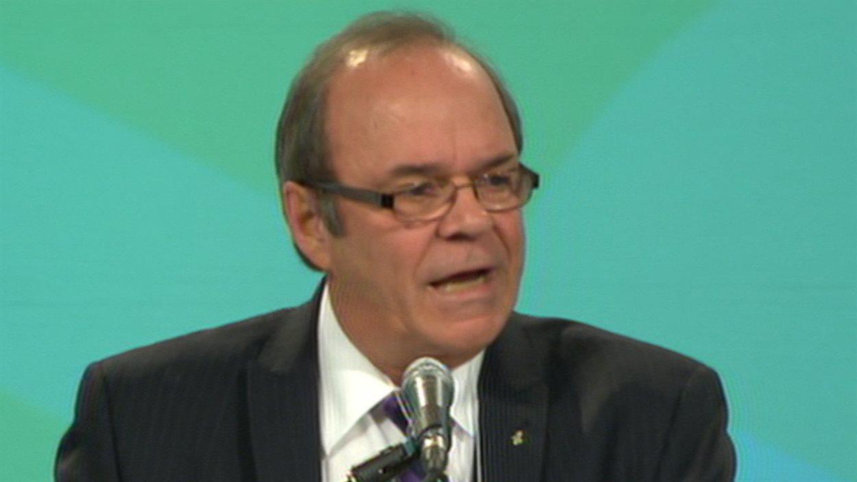 Le président sortant de la FTQ, Michel Arsenault
