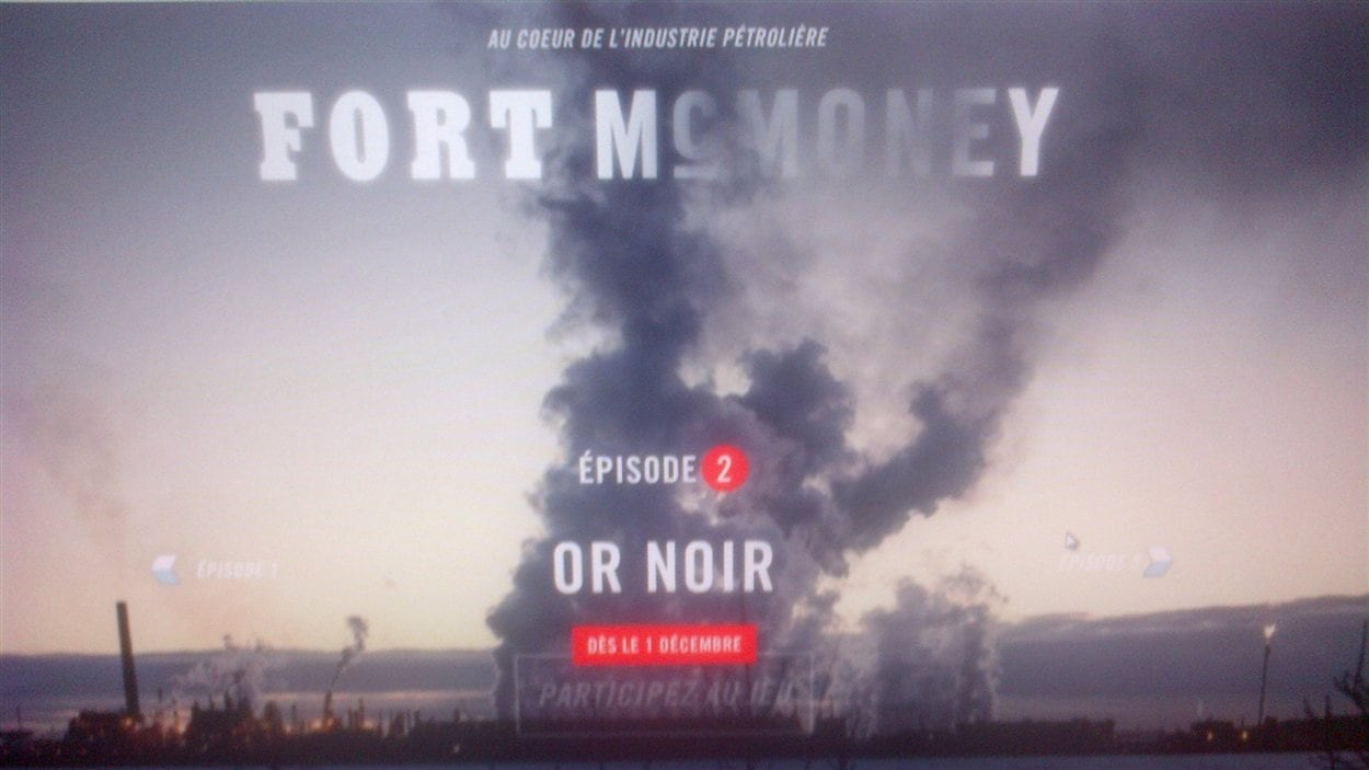 Documentaire interactif Fort McMoney