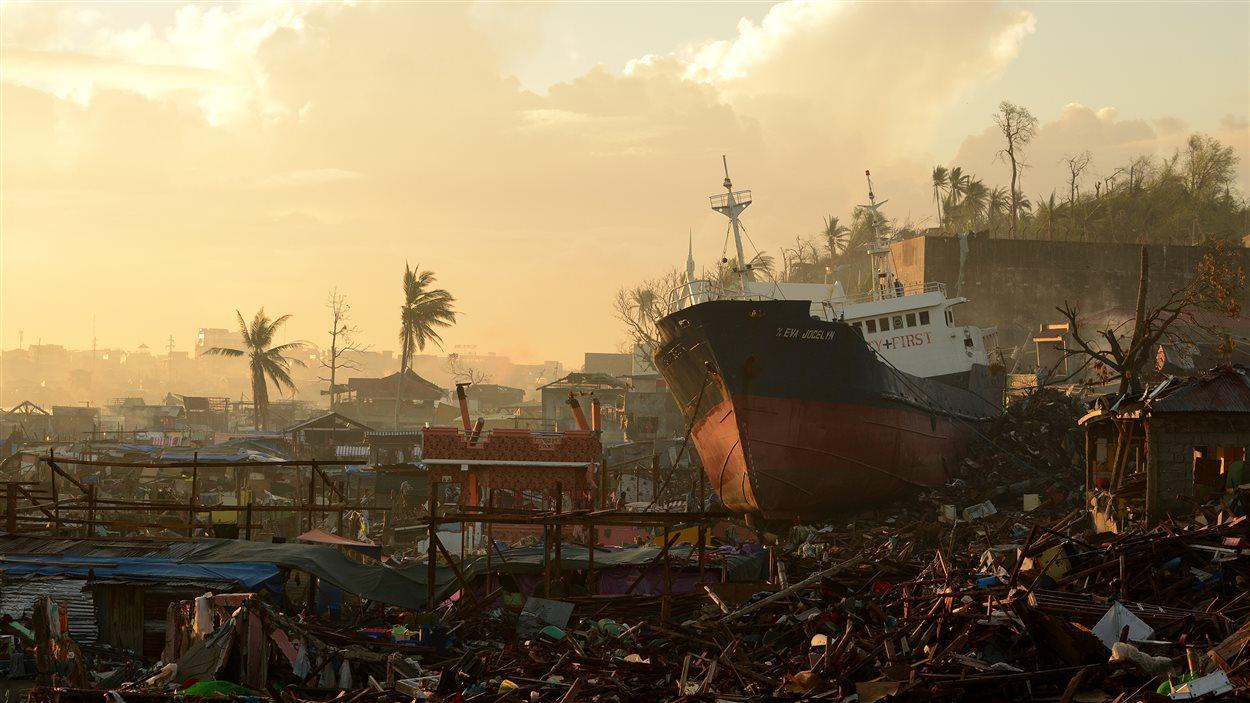 Tacloban, le 25 novembre 2013.
