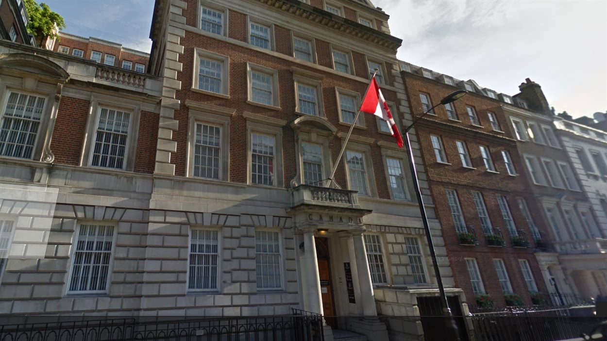 Macdonald House au 1 Grosvenor Square, Londres