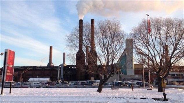 L'usine de Rio Tinto Alcan à Shawinigan