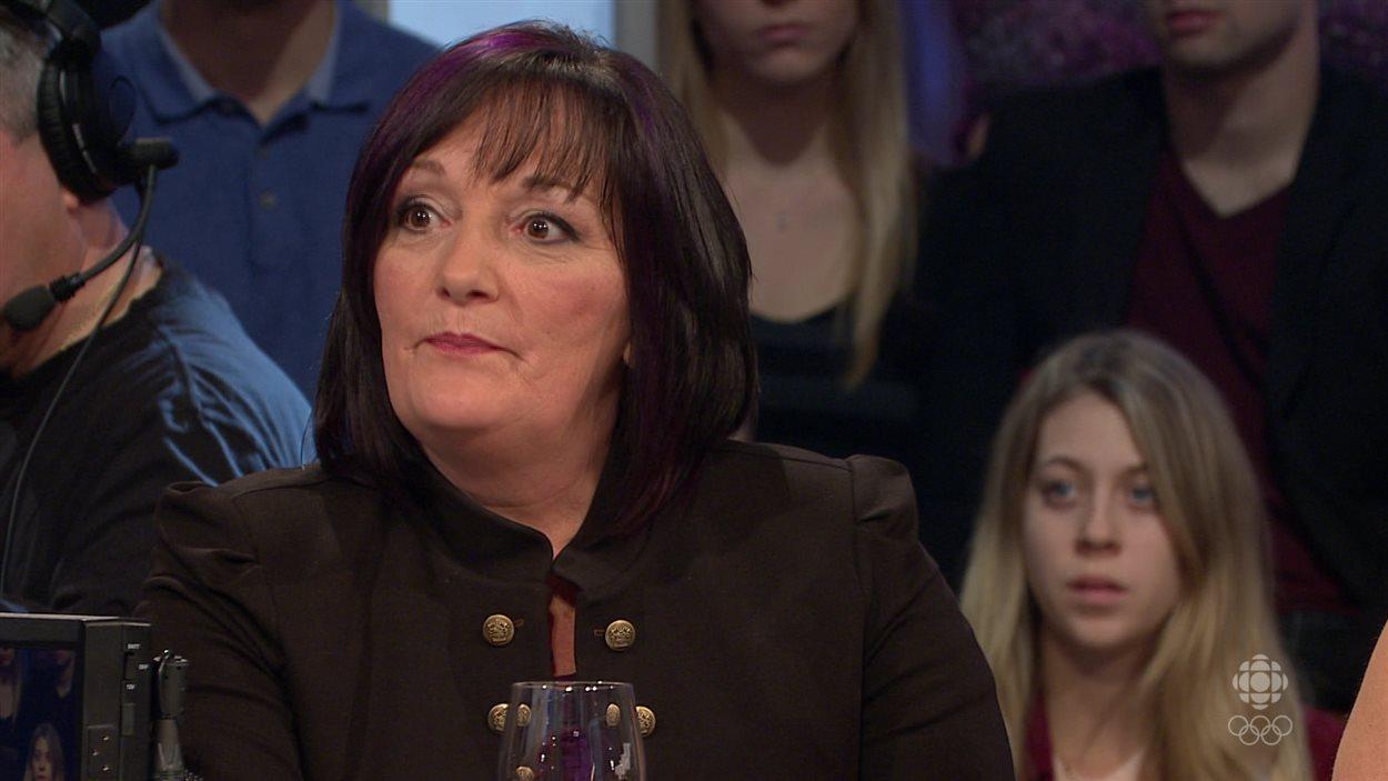Marie-Paule McInnis à l'émission Tout le monde en parle