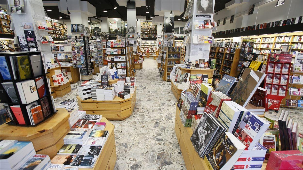La libraire Pantoute à Québec