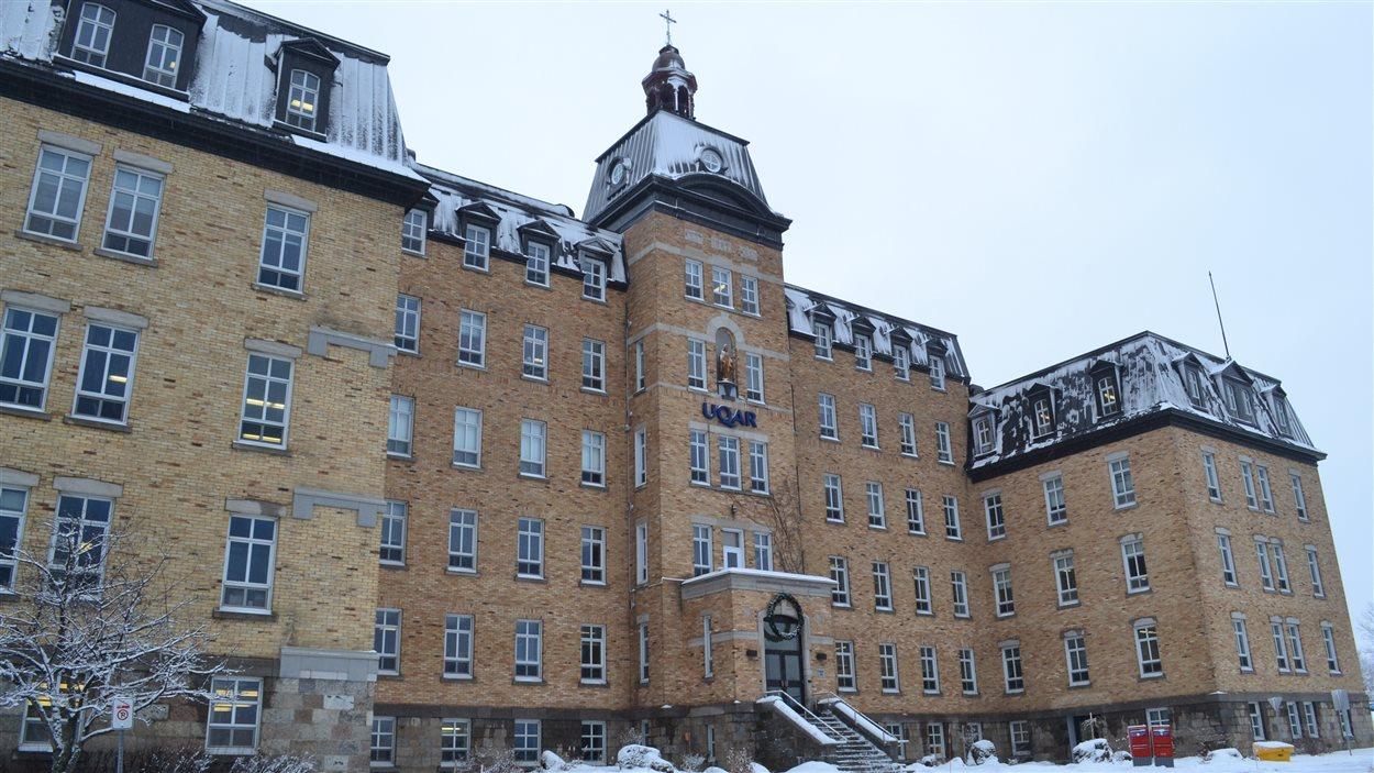 Université du Québec à Rimouski en hiver