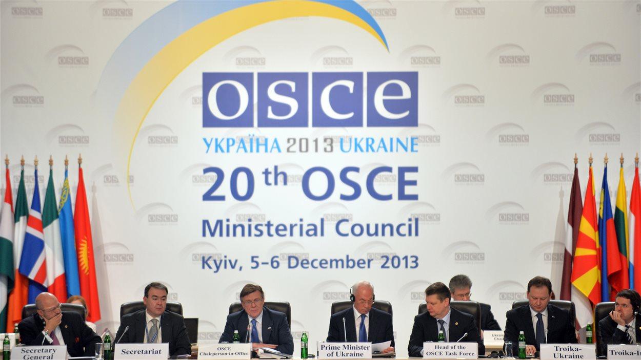 La rencontre de l'OCDE avait été planifiée bien avant le début des manifestations.
