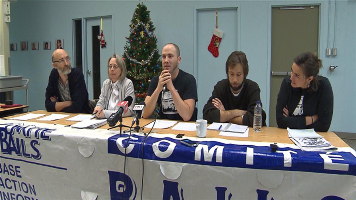 Conférence de presse des comités de logements
