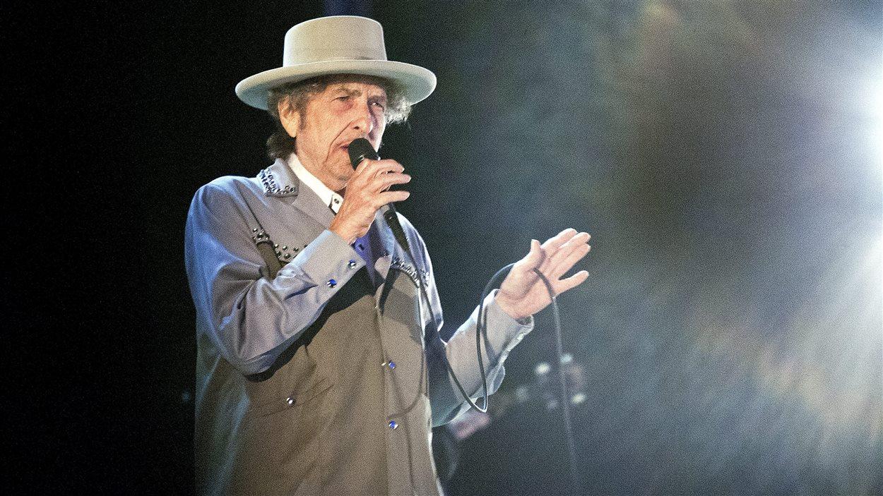 Bob Dylan en spectacle, en 2013