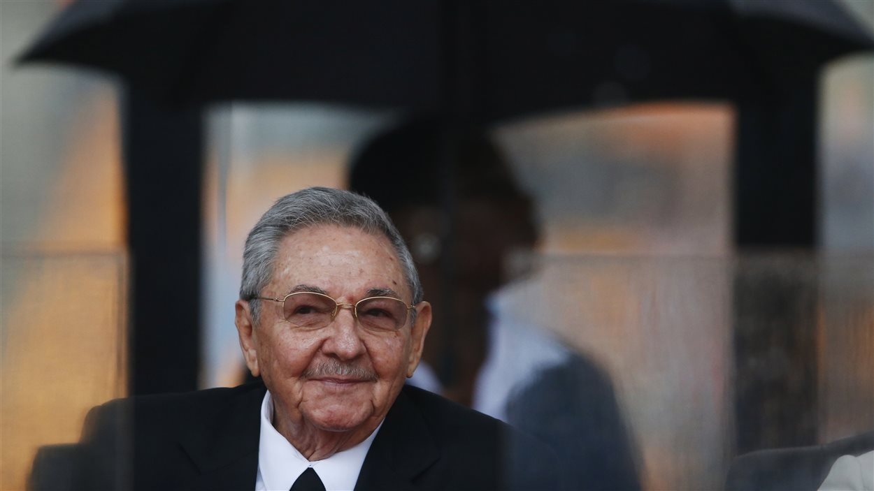 Le président cubain Raul Castro