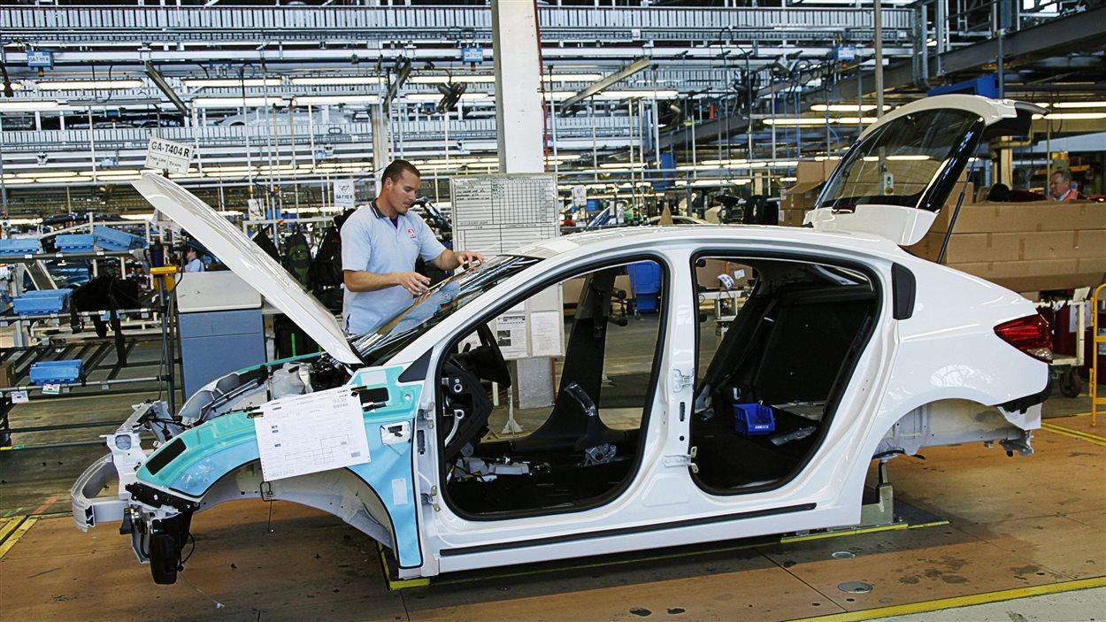 Usine de GM en Australie