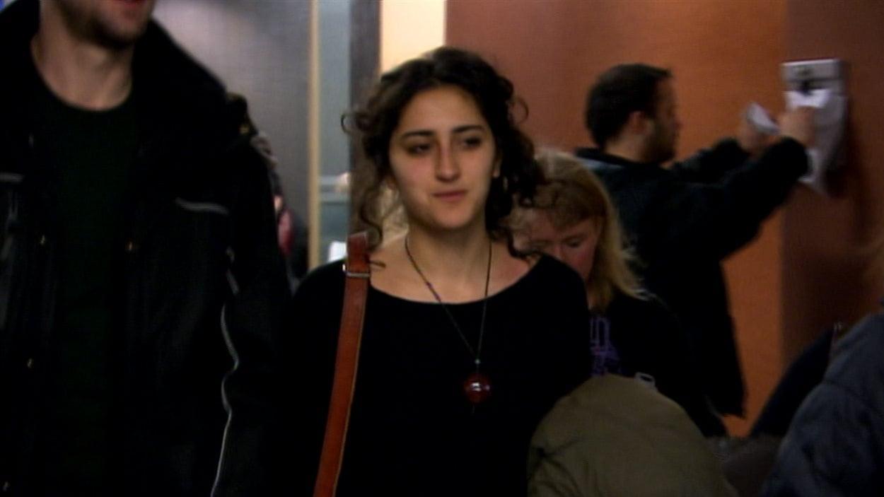 Yalda Machouf Khadir était de retour en cour jeudi.