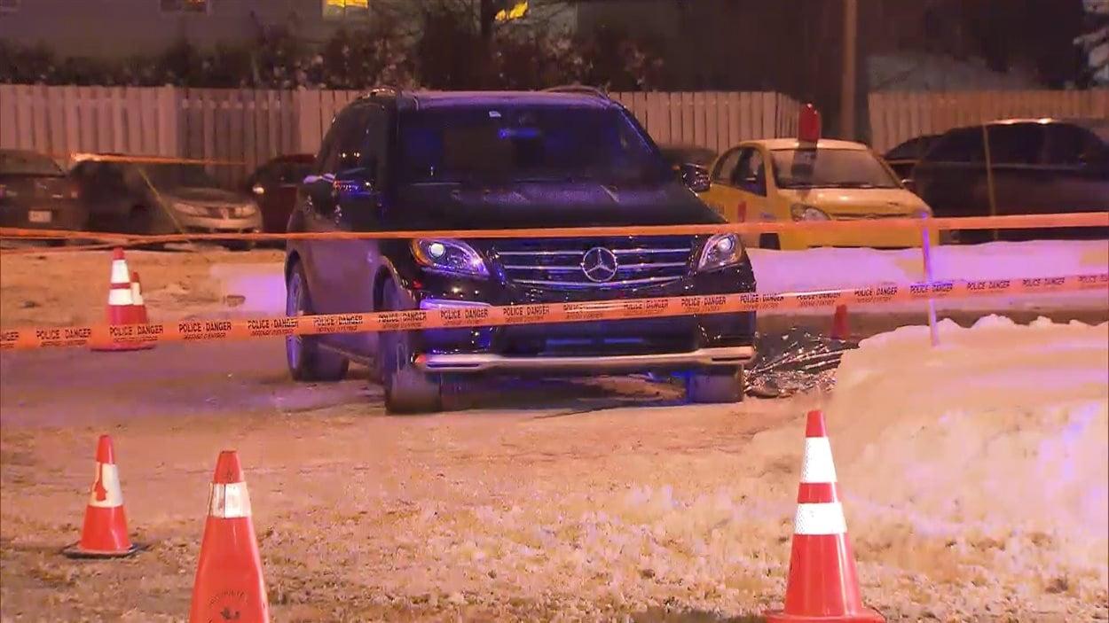 Roger Valiquette a été tué mercredi dans le stationnement d'un restaurant Saint-Hubert de Laval.