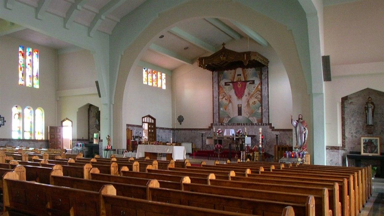 L'église Christ-Roi de Sherbrooke: avant
