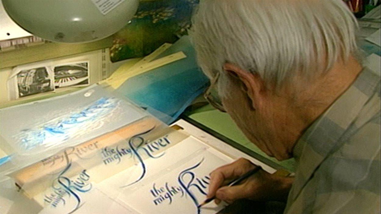 Frédéric Back avait de nombreux talents : peintre, illustrateur, muraliste.