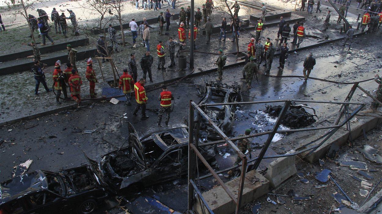 Un attentat survenu vendredi à Beyrouth a coûté la vie à l'ancien ministre libanais Mohamed Chattah.