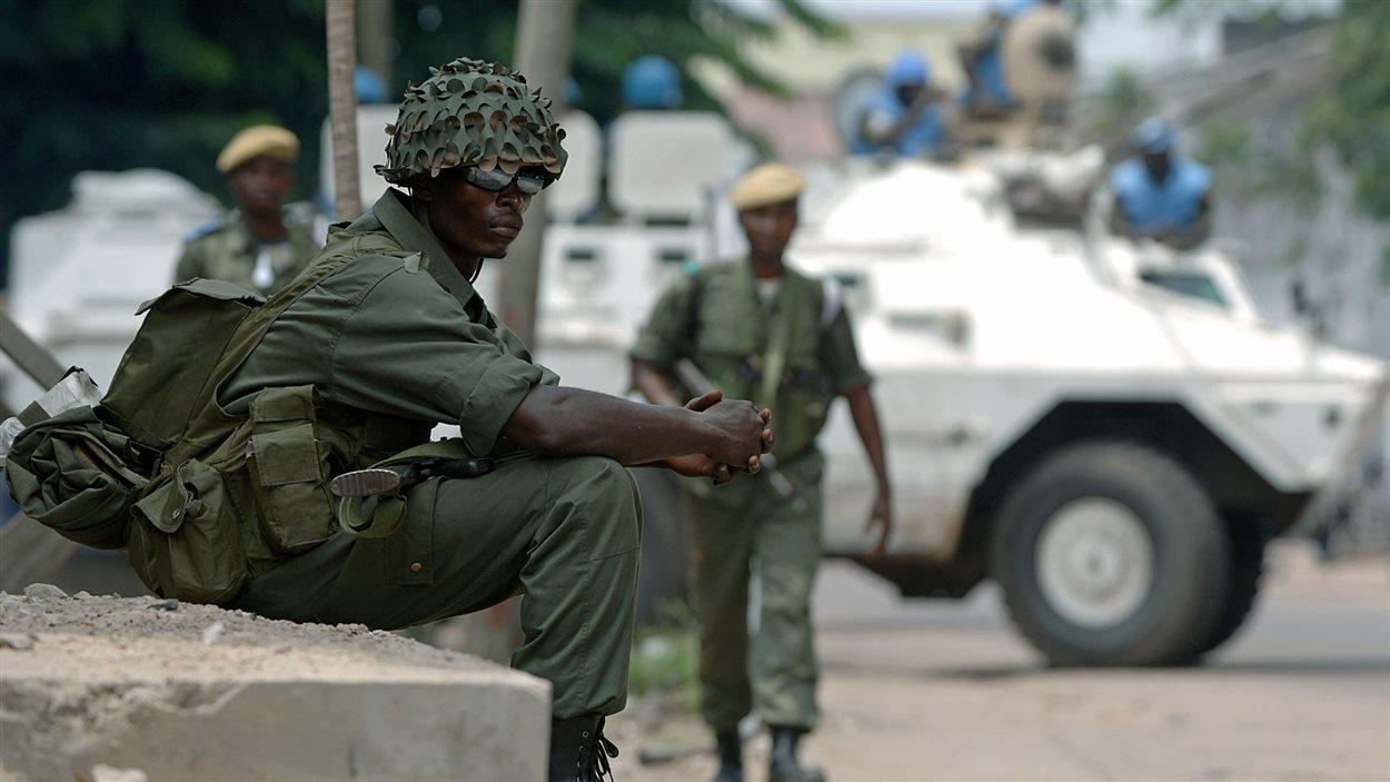 Soldat congolais à Kinshasa (archives)